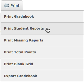 student reports
